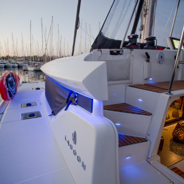 catamaran for rent greece