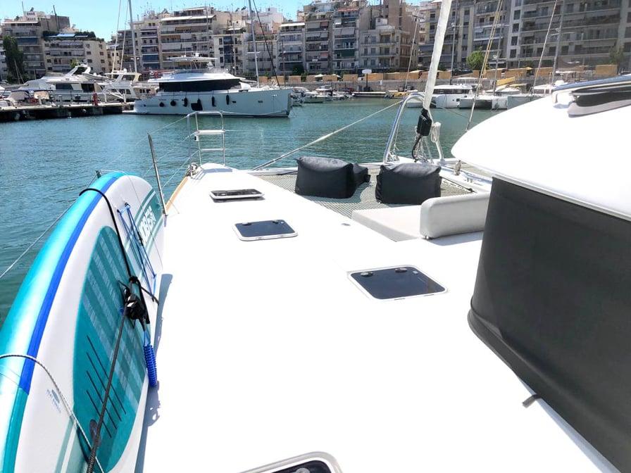 luxury catamaran sailboat