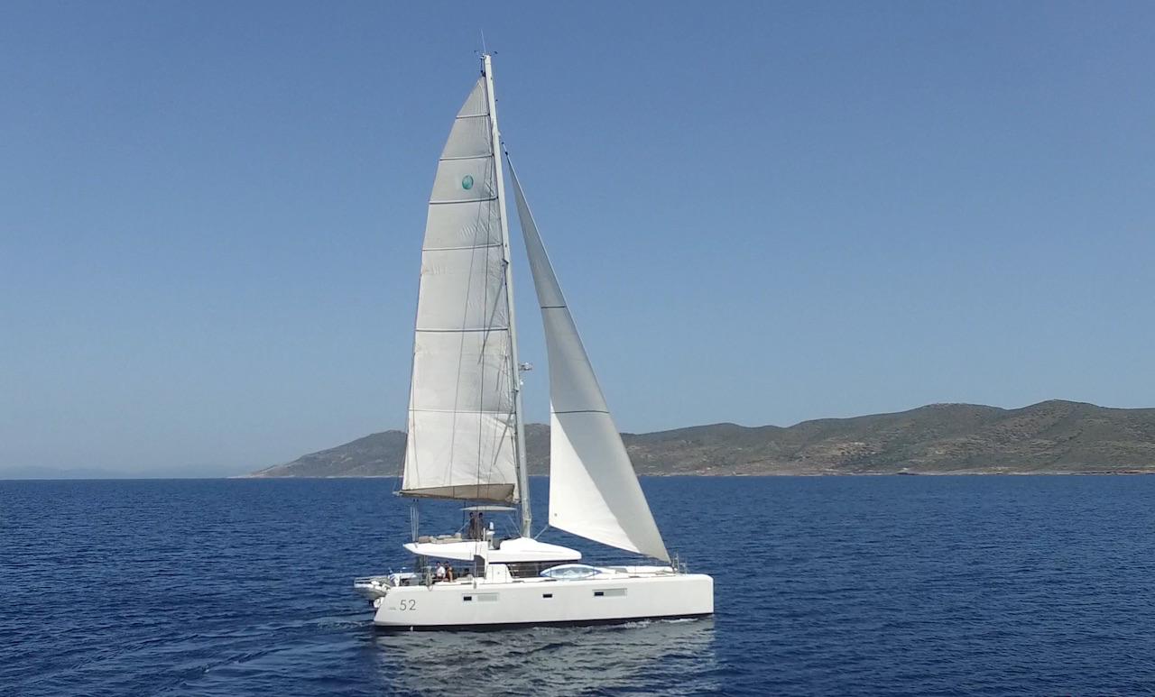greece catamaran charter
