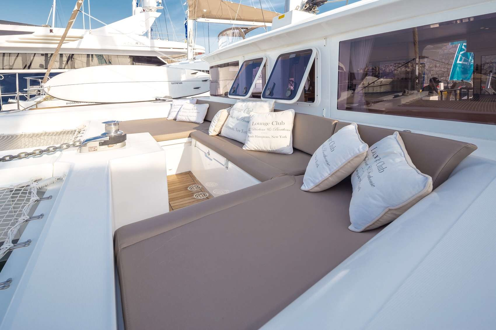 catamaran charter in greece