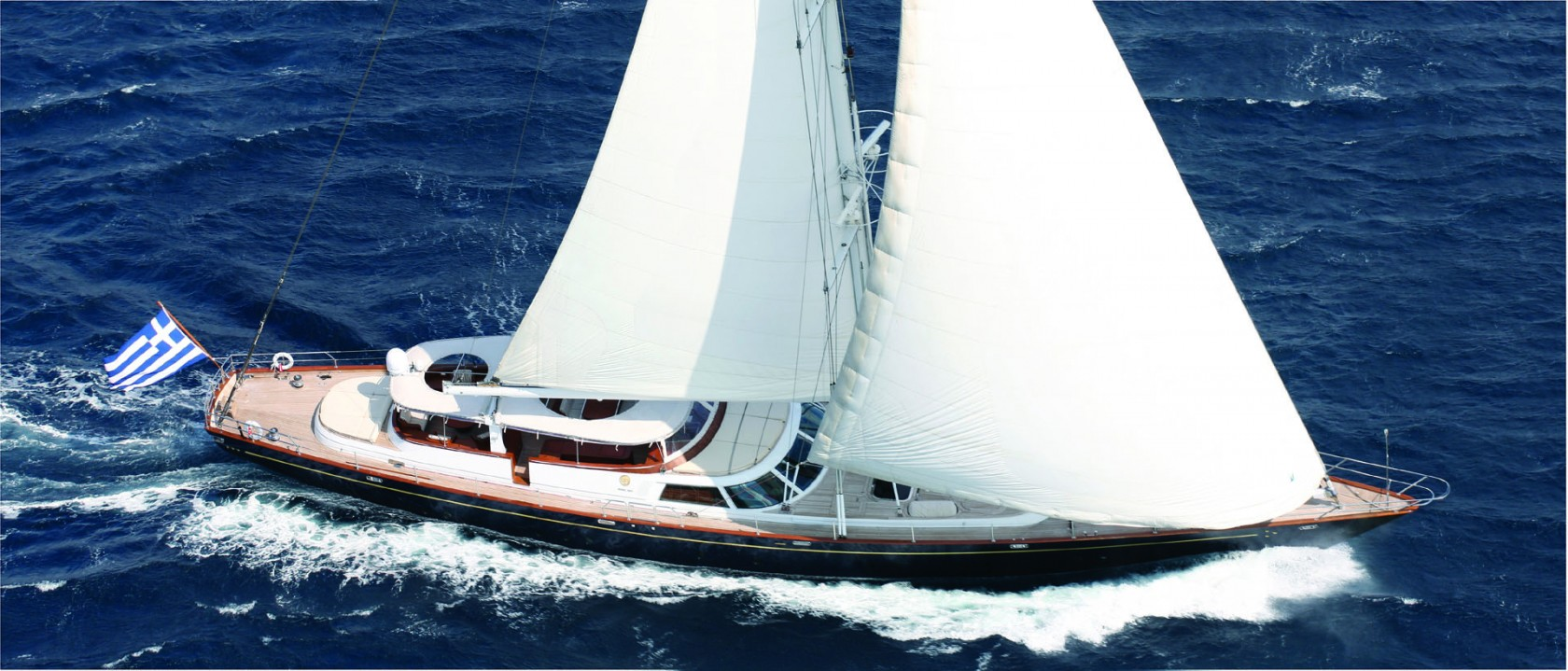 Luxury Sailing Yachts in Greece