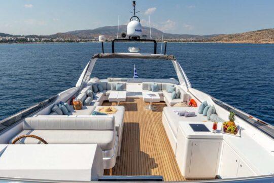 Charter A Luxury Motor Yacht In Greece