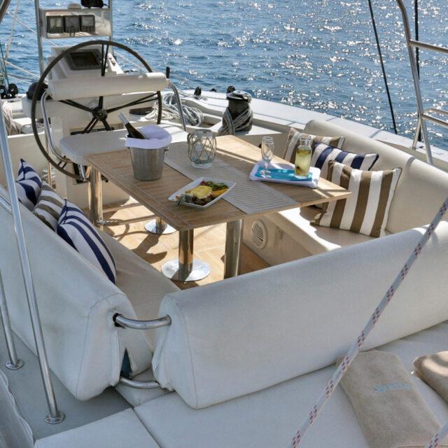 Sy Anassa Sailing Yacht 12