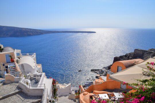 Luxury Cruise In Santorini